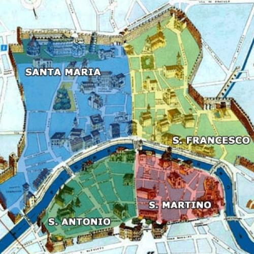 Cartina quartieri D